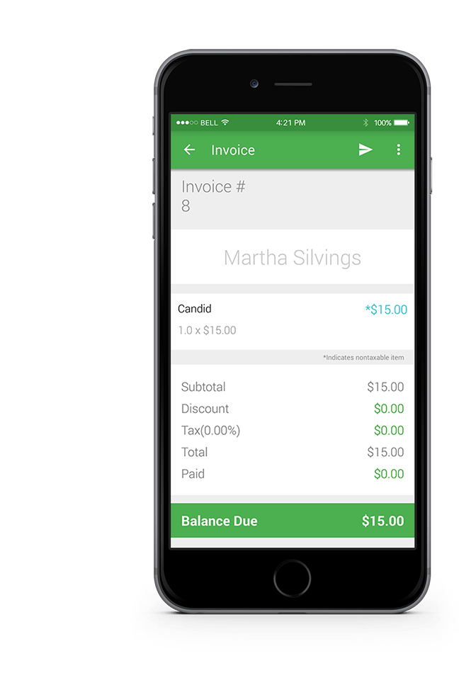 Smart Invoice   Create and Send Invoices from your Mobile Device or     Smart Invoice is an easy and convenient invoice app designed to help you  craft the perfect invoice  track payments and get paid faster