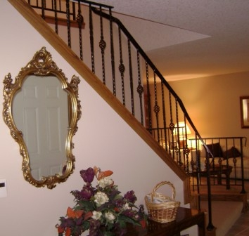 Smith Iron Works Spiral Staircases Handrails Drive Gates   Salter Spiral Stair Cost   Stair Railing   Deck Railing   Stair Case   Solid Wood   Collegeville Pa