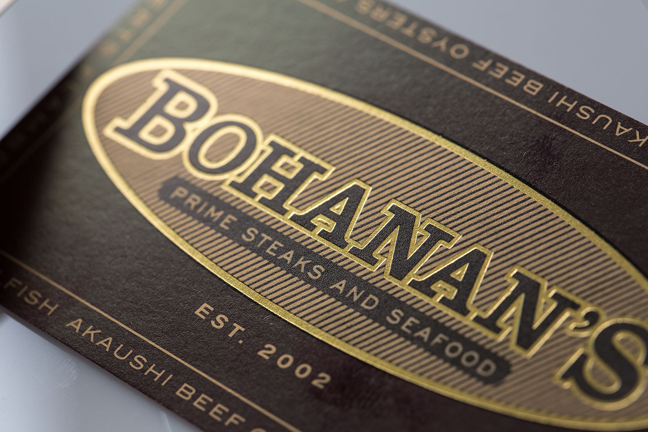 Metallic Ink And Business Cards Print Gallery