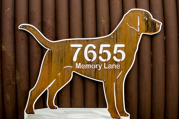 Laser Cut Metal Signs Smith Steelworks