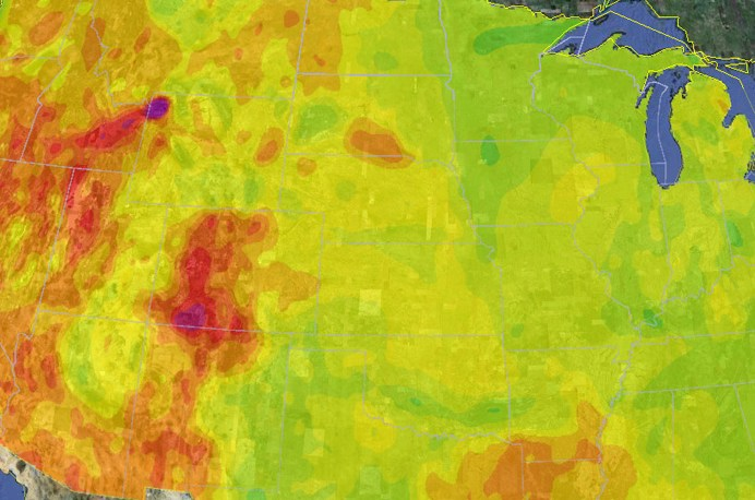 HD Decor Images » First Google Org funded geothermal mapping report br   confirms vast     Geothermal Map of the United States