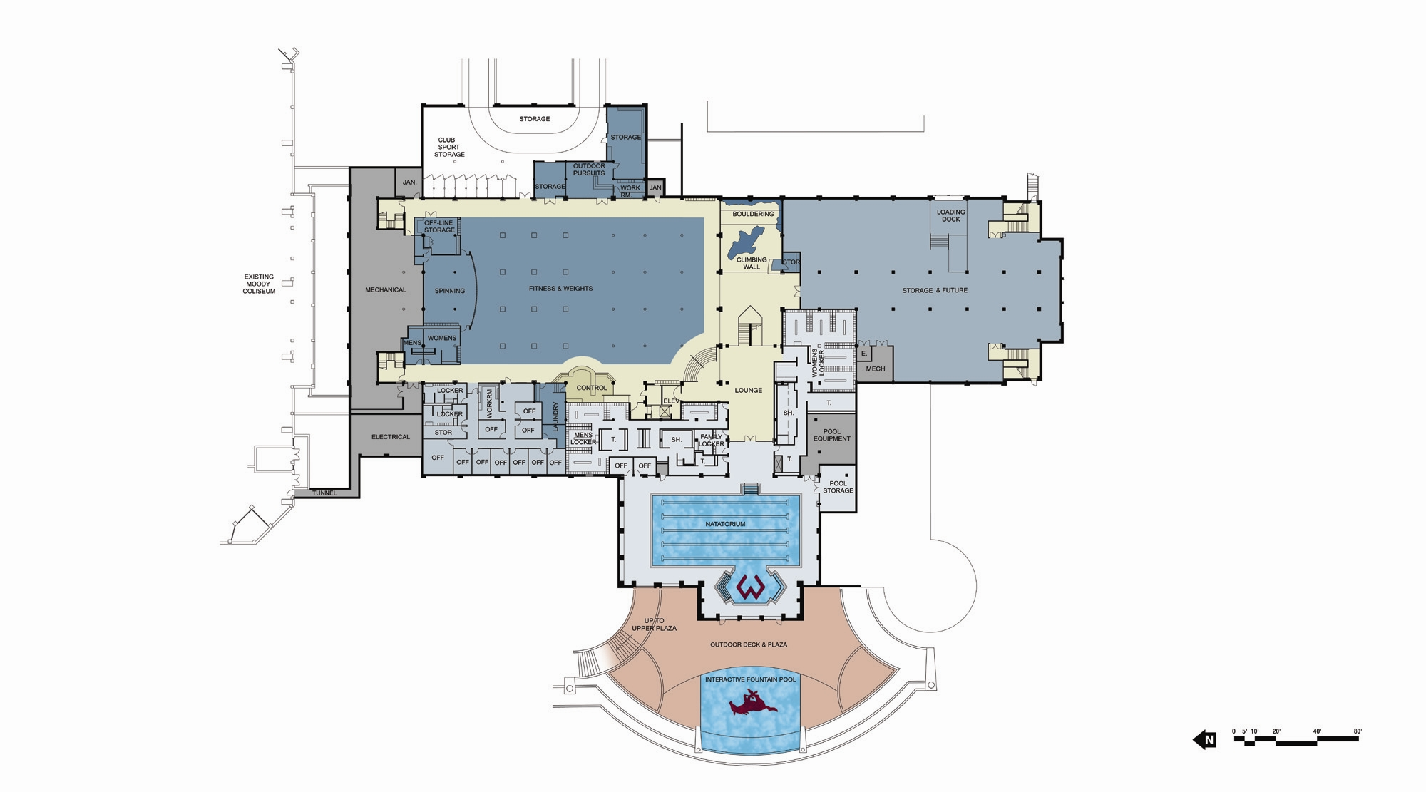Best Kitchen Gallery: Facilities Overview Smu of Sport Gym Floor Plan on rachelxblog.com