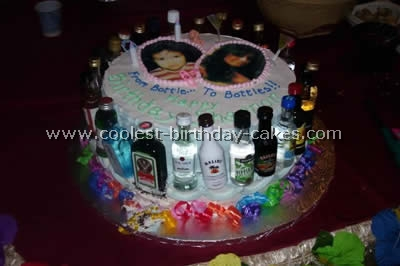 8 Homemade 21st Birthday Cakes For Her Photo 21st