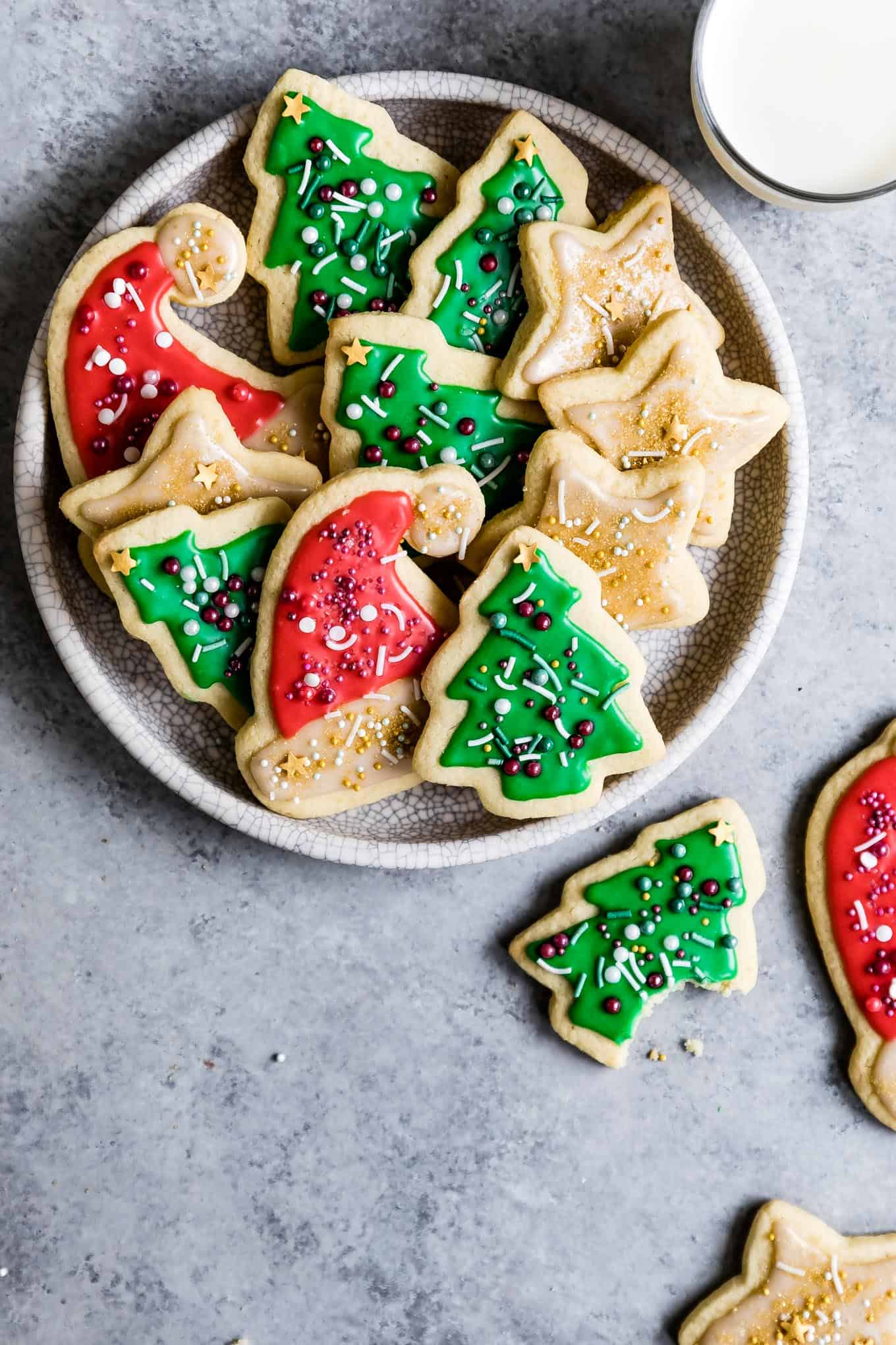 Gluten Free Sugar Cookies With Easy Icing Snixy Kitchen