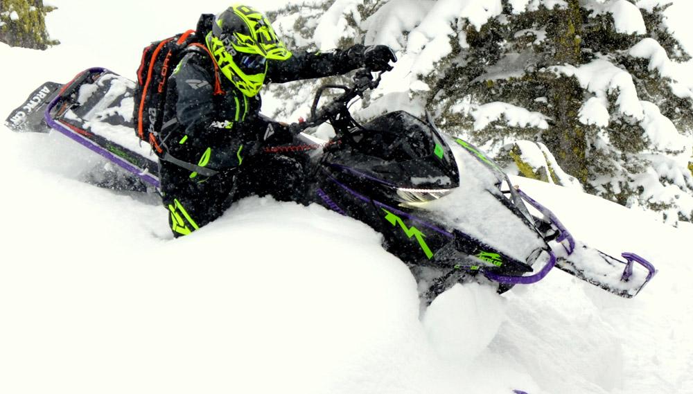 Ski Doo Snowmobiles Mountain