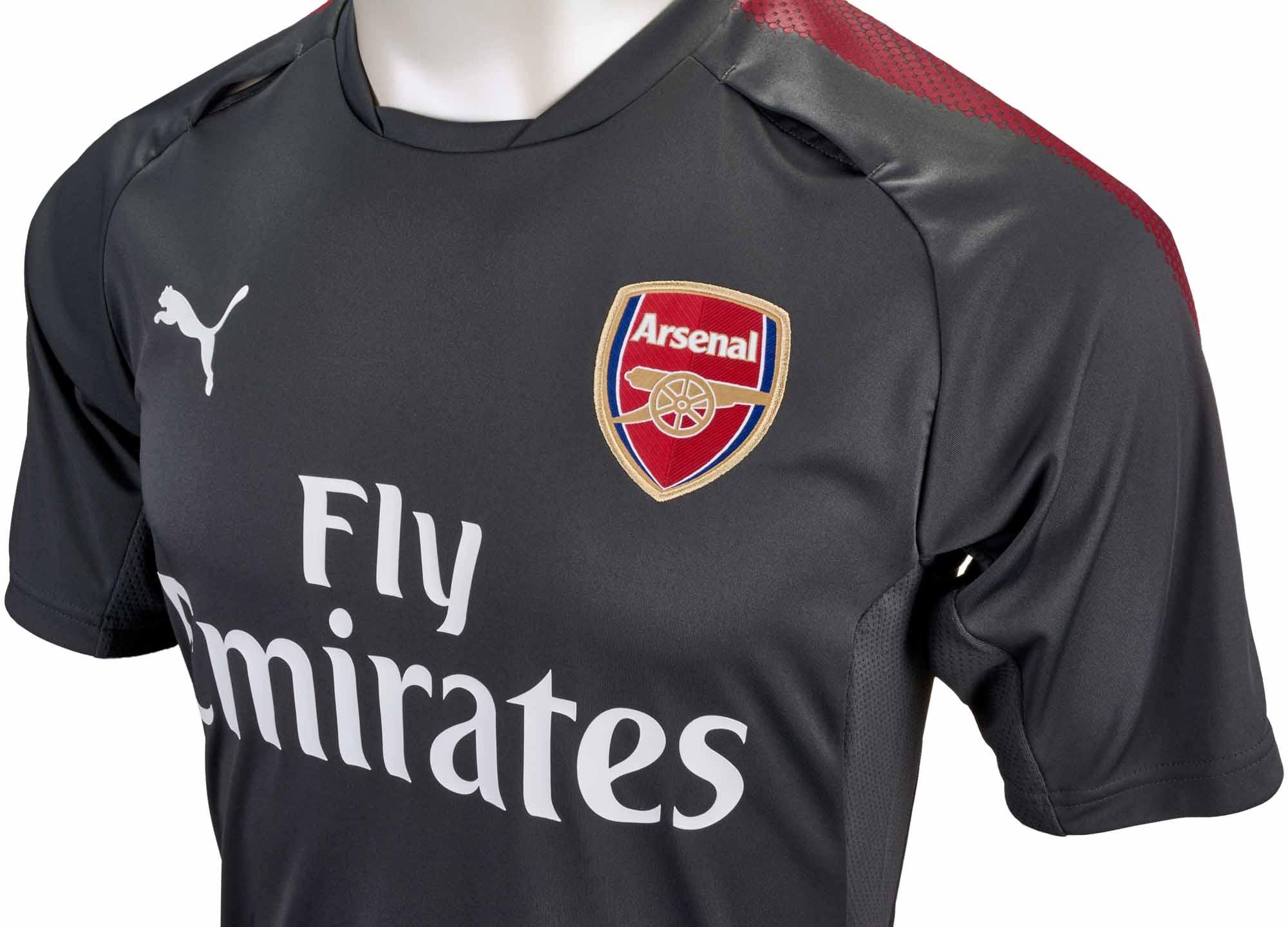 2017 18 Puma Arsenal Training Jersey Soccerpro Com