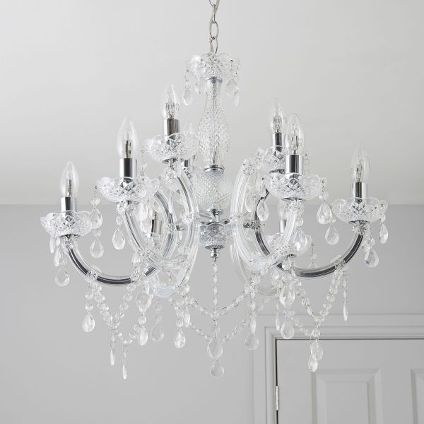 crystal chandelier dunelm # 86