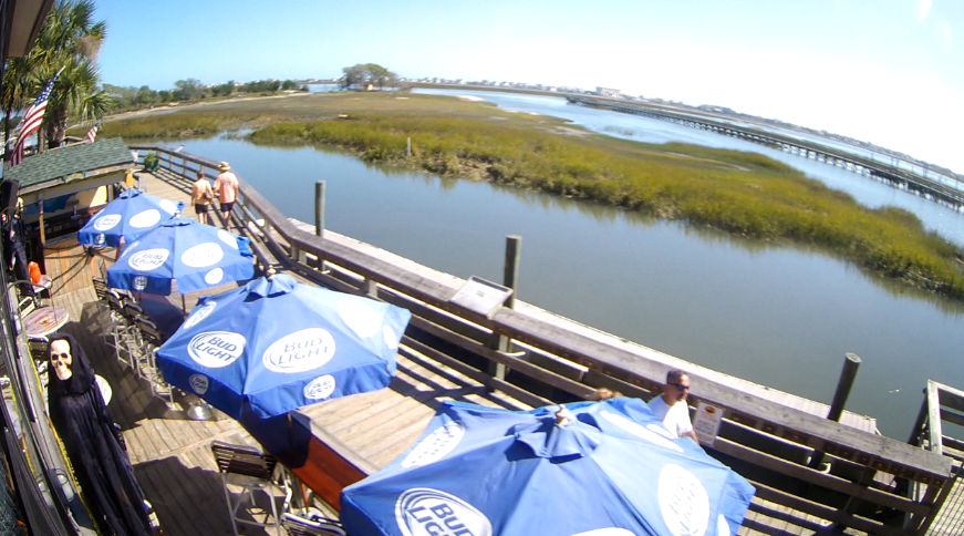 Beach Resort Boardwalk Webcam