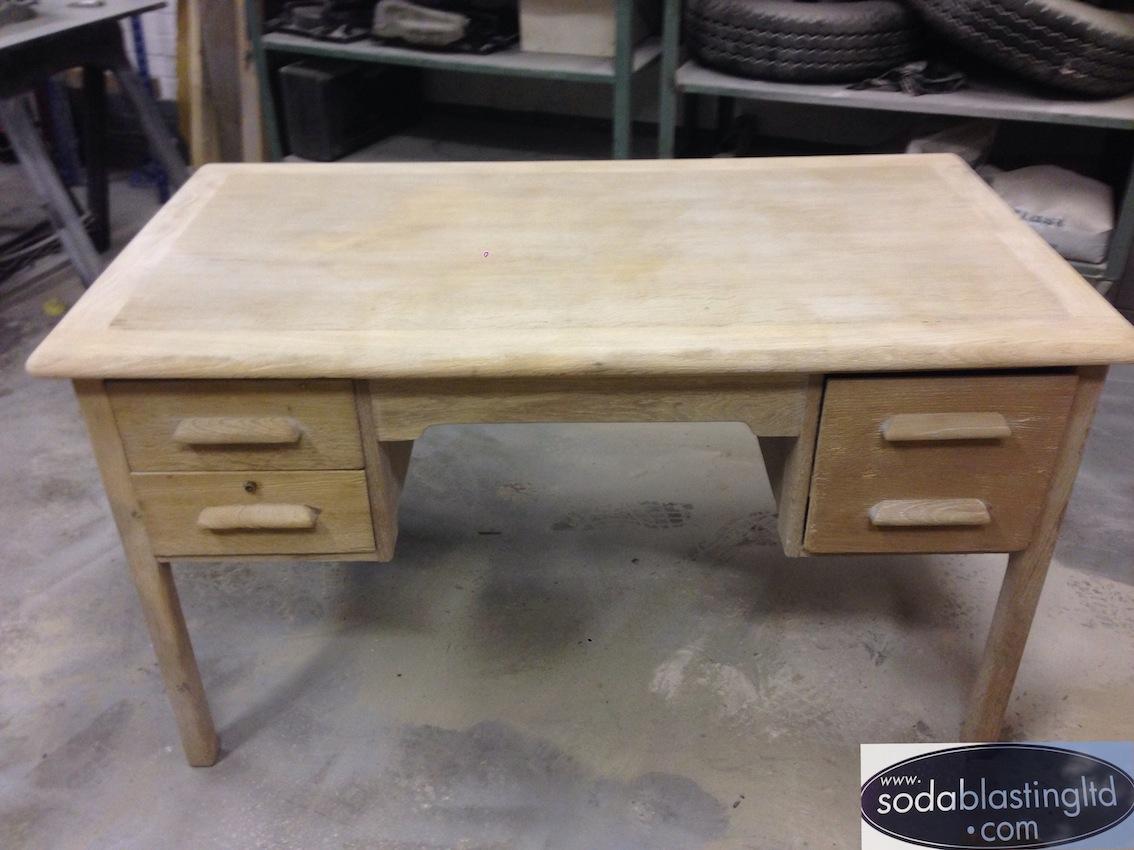 Wood Blasting Soda Furniture