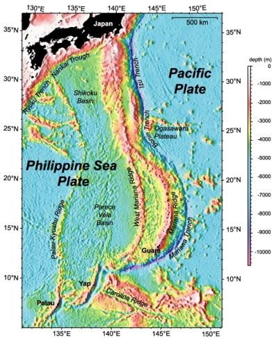 Izu-Ogasawara Trench - Wikipedia