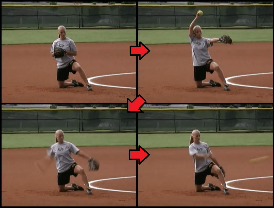 Fastpitch Glove Pitching