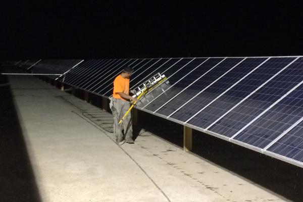 Solar Panel Output