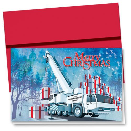 Body Building Christmas Card