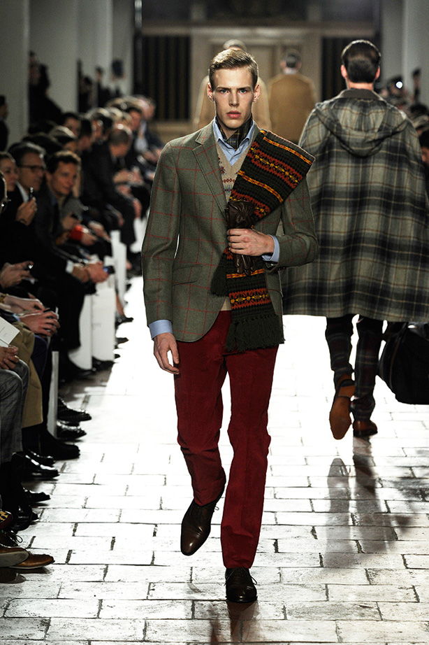 London Fashion Week Hackett Fw13 Menswear Soletopia