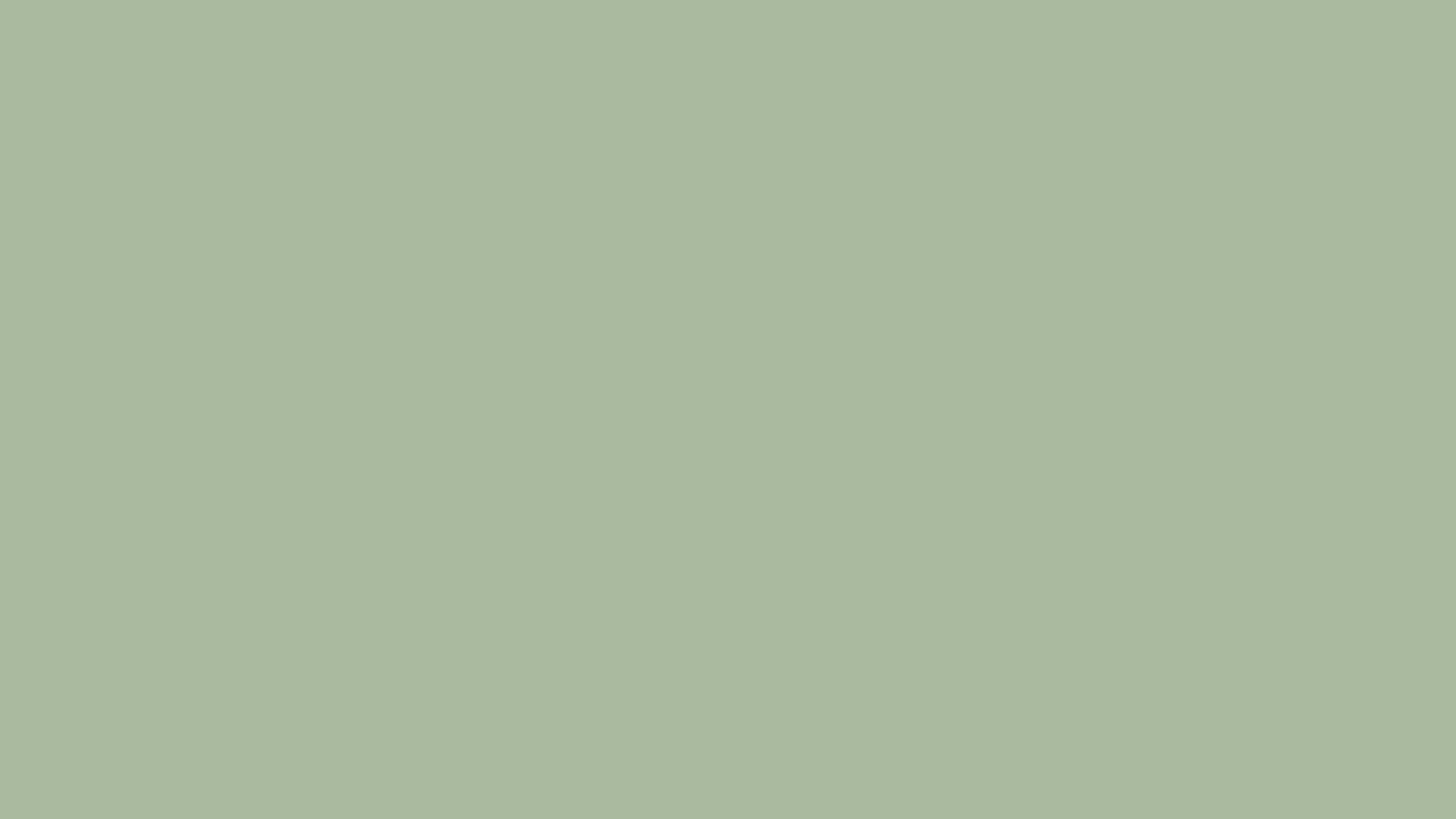2560x1440 Laurel Green Solid Color Background