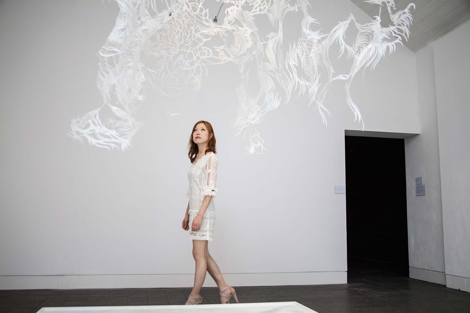 Solo Kojima Paper Cut Art Sculpture Design Consultants