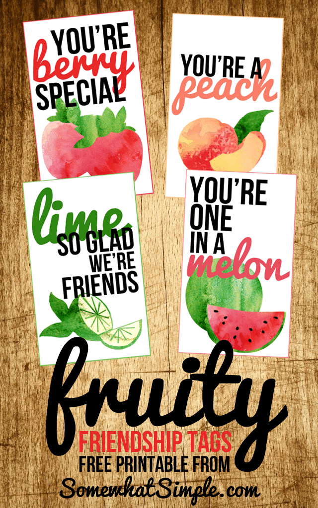 Scrub Gift Printable Body Tags