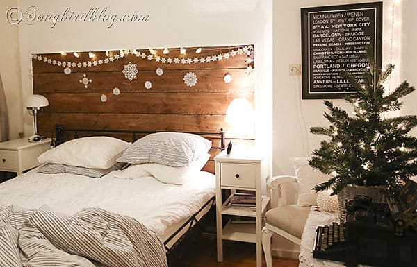 Christmas Decorating in the Bedroom decorate your bedroom for Christmas  2