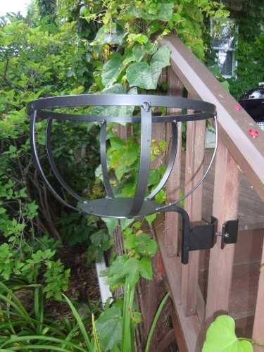 Wrought Iron Wood Holder