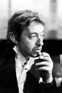 gainsbourg smoking on tv sonic editions