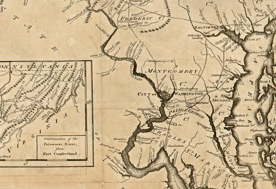 HD Decor Images » Maryland map colony Maryland