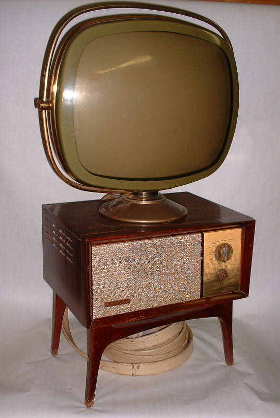 Especial. Completely Round screen vintage televisions