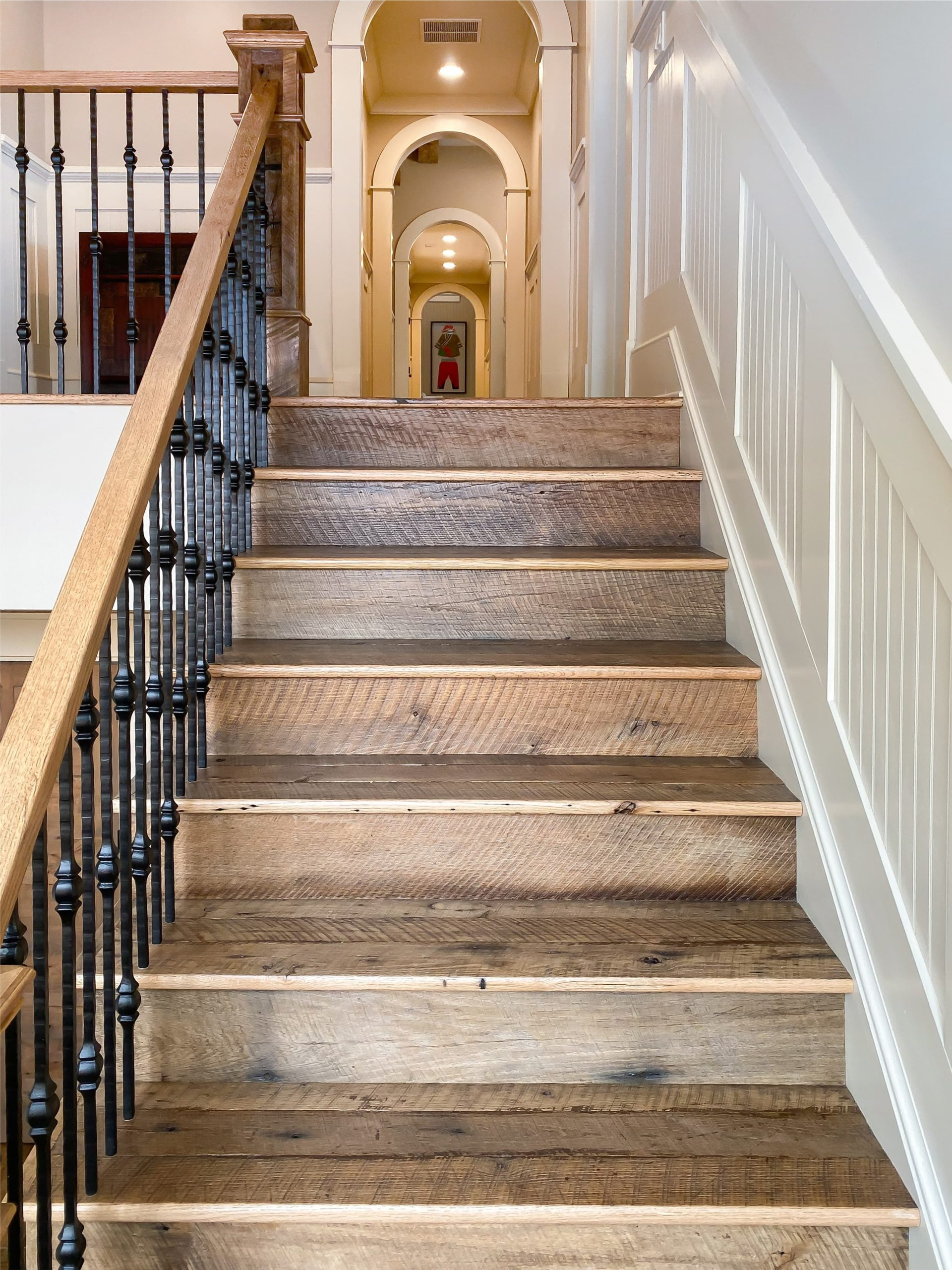 Antique Stair Parts From Reclaimed Wood Southend Reclaimed | Antique Handrails For Stairs | Newel Posts | Wrought Iron Stair | Antique Wood | Antique Green | Wood