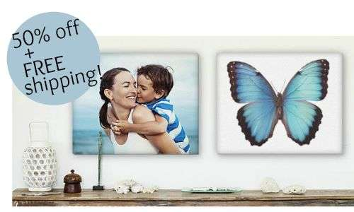 Easy Canvas Prints: 50% Off + Free Shipping :: Southern Savers