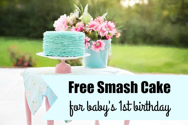 Free Smash Cake On Baby S 1st Birthday Southern Savers