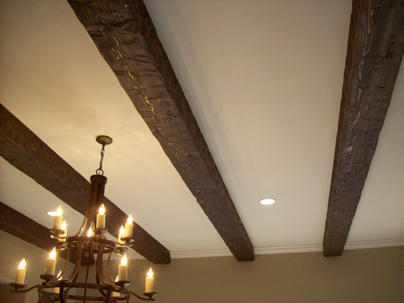 Beam Design Considerations Southern Woodcraft Ceiling beams on a standard ceiling