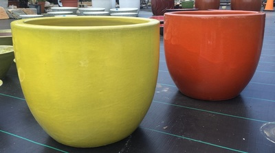 glazed pots  colorful planters  urns  outdoor decor  pots  planters     glazed pots  colorful planters  urns  outdoor decor  pots  planters   gardening  garden pots  garden planters  glazed pottery  plant containers