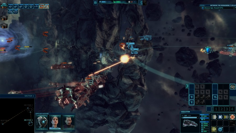 Ancient Space Reveal and Release Date Announced   SpaceSector com Ancient Space   A real time Space Strategy Game by CreativeForge Games and  Paradox Interactive