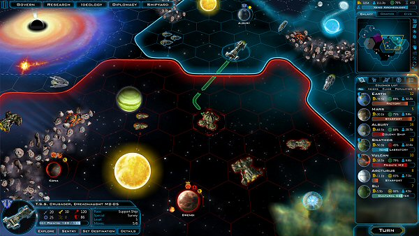 A List of Space Sci Fi Fantasy Games You Can t Miss in 2014     Galactic Civilizations 3   Turn based space 4X strategy game by Stardock