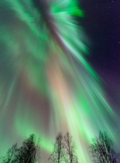 Fall Equinox Northern Lights