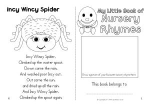 nursery rhymes coloring pages # 9