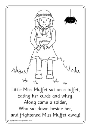 nursery rhyme coloring pages # 5