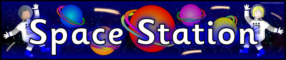 Space Station Role Play Banners