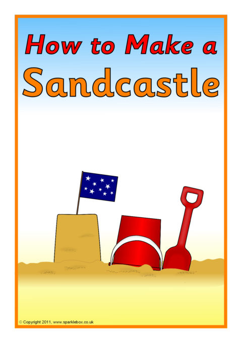 How To Make A Sandcastle Instructions Sb5348 Sparklebox