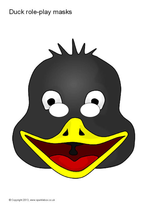 Duck Role Play Masks