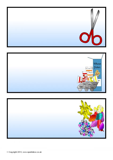 Editable Classroom Resource Labels