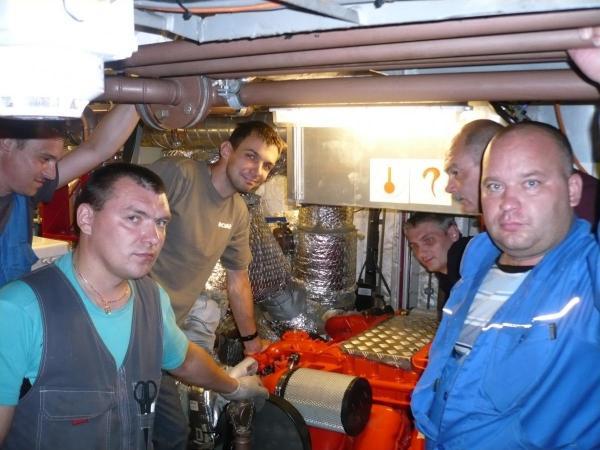 "Scania engine training seminar for ""ZNT yard"""