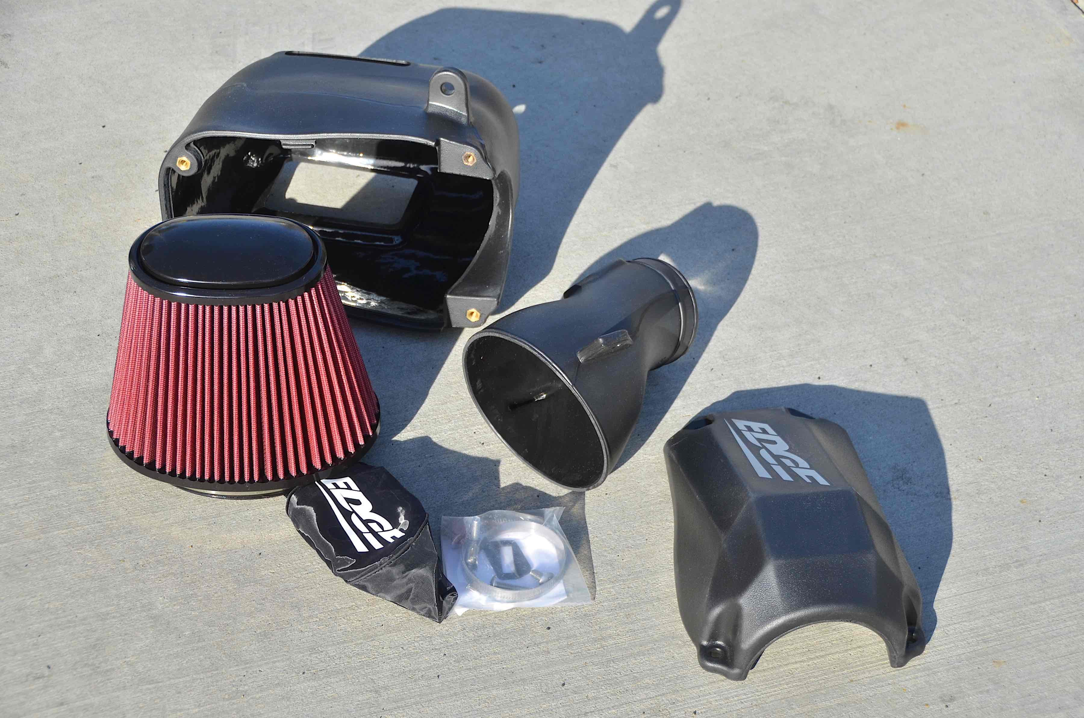 Cool-It: Edge Jammer Cold Air Intake Install On A Power Stroke