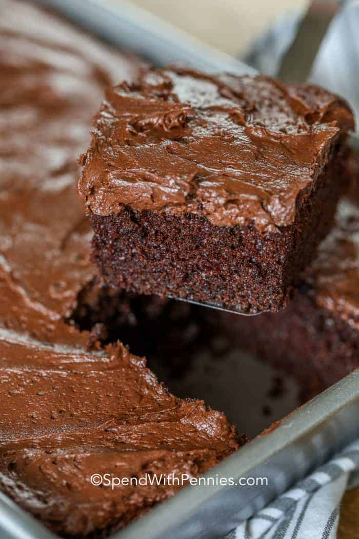 Simple Chocolate Cake Rich Amp Moist Spend With Pennies