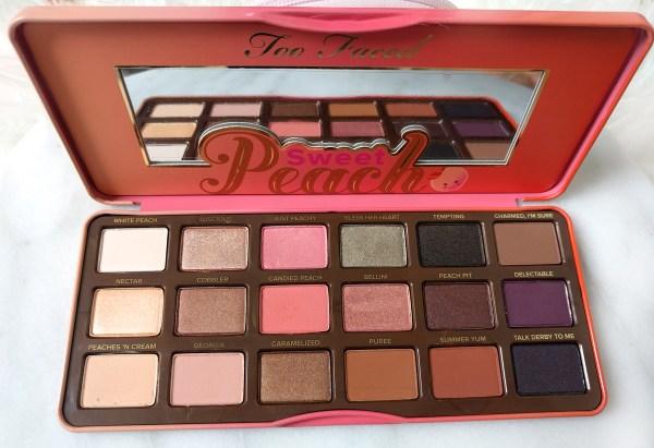 sweet peach palette # 64