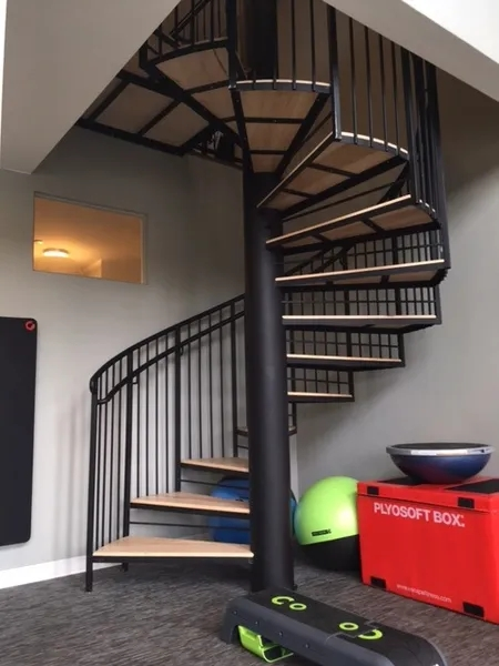 Parts Of A Staircase Design Your Dream Staircase With Goddard | Metal Spiral Staircase Cost | Stair Case | Stair Treads | Iron | Stainless Steel | Deck