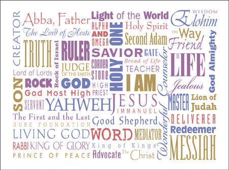 Names of God   Spiritual Blessings
