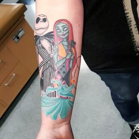 Jack Skellington Tattoos
