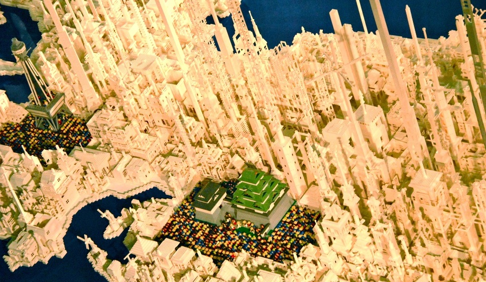 1 8 million LEGOs used to create map of Japan   Spoon   Tamago Many