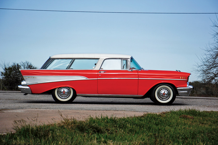 1956 Chevy Bel Air Station Wagon