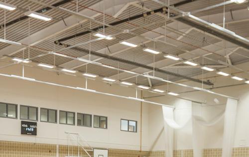 Sports Hall Lighting Sports Facilities Group